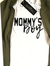 Shirt 'Mommy's boy'