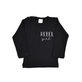 Rebel Girl  (opdruk in verschillende kleuren)