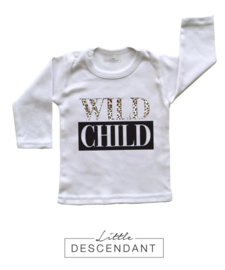 Kinder shirt  luipaard print 2