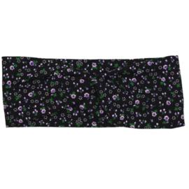 Haarband  Mini Flower Black - twist