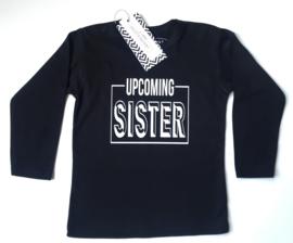 Shirt grote broer 'upcoming sister'