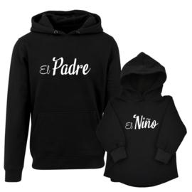 Twinning hoodies  ' El Padre El Nino'