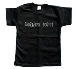 Shirt '#eigen tekst'