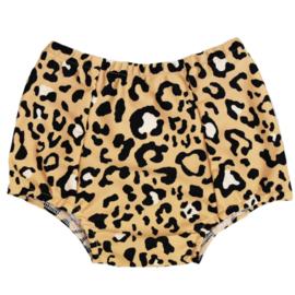 Baby Highwaist zwembroekje | Leopard Dierenprint