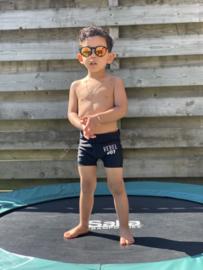 Kinder zonnebril - 0 tot 4 jaar- D&D - Just be you - Black (Red Revo)