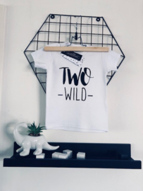 Verjaardag shirt 2 jaar- TWO wild
