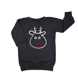 Kerst Jurkje - Baggy Sweaterdress |  Rudolph | 7 Kleuren