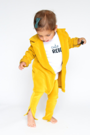 Blazer Yellow Corduroy