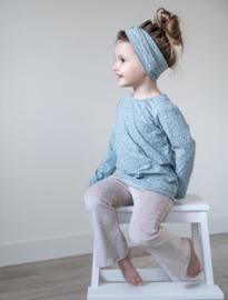 Long Sleeve | Mini Flower Old Green