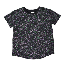 T-Shirt - Old Flower Black