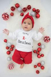 Kerst Shirt - Shirt | My very 1st Christmas