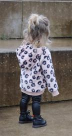 LIMITED EDITION Kinder teddy Hoodie   Blushy Leopard   Handmade