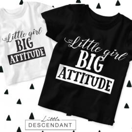 Kinder shirt - Little girl big attitude