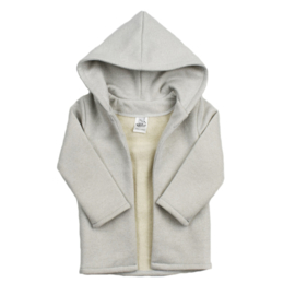 Hoodie vest - Glitter snow