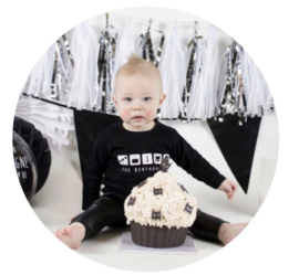 Kinderverjaardag shirt 'The birthday kid'