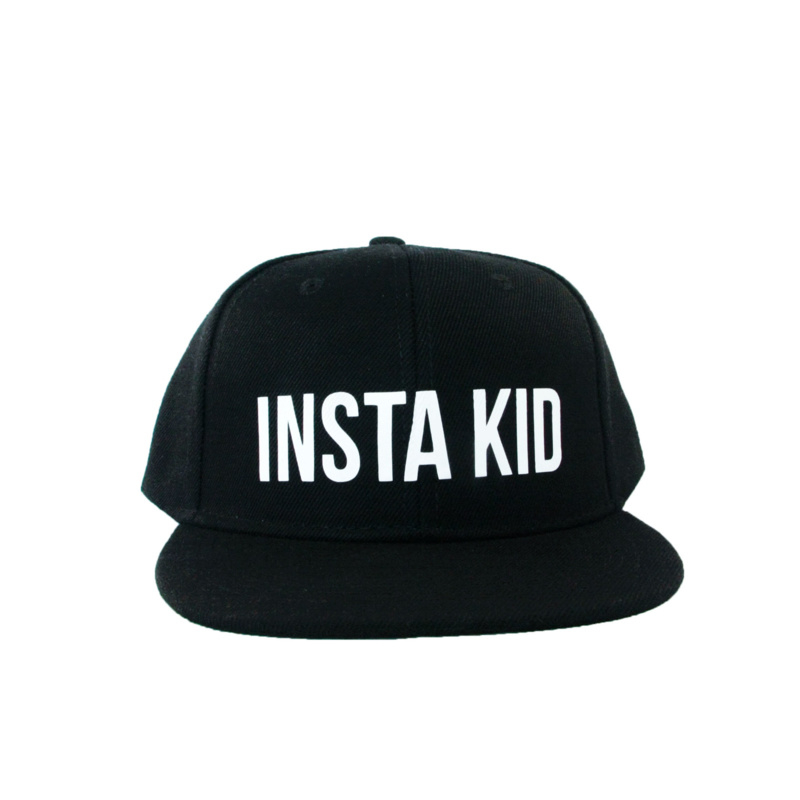 zwarte pet kind 'insta Kid'
