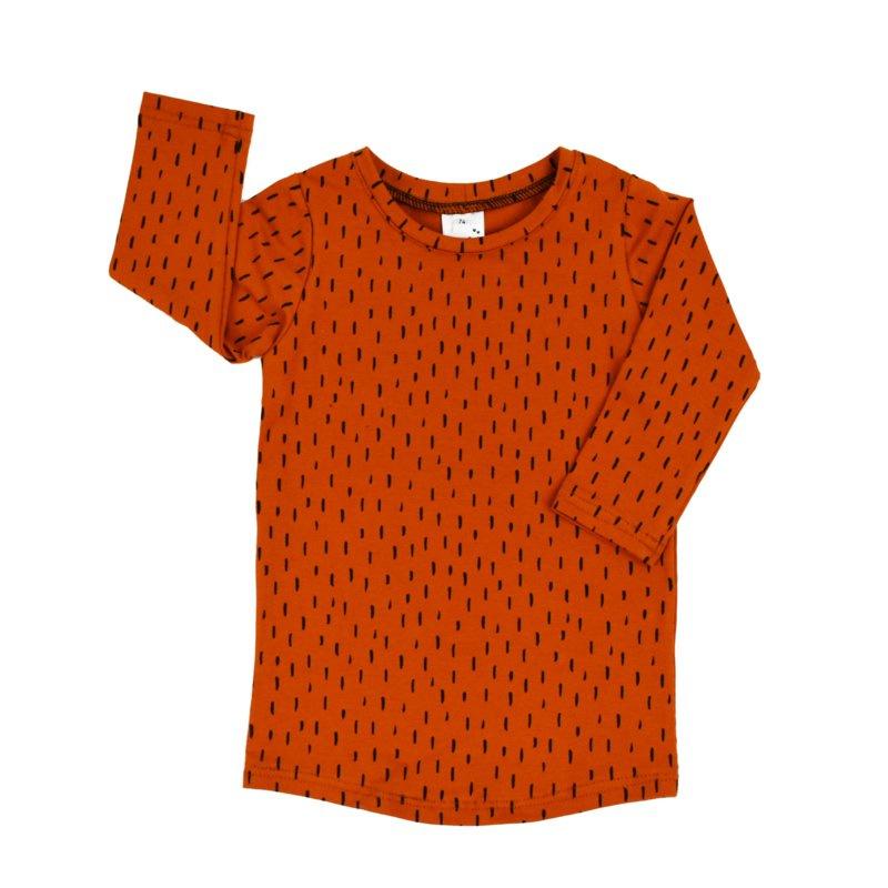 T-shirt Dress 'Amberglow'