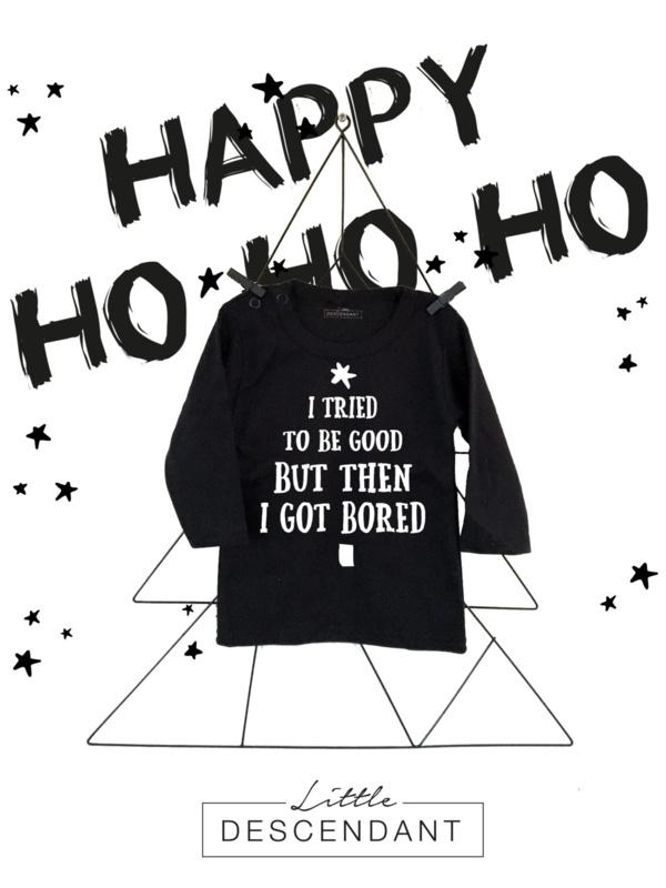 Kerst shirt baby peuter kleuter