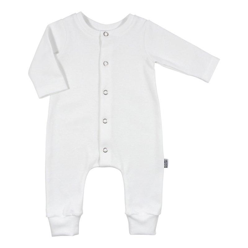 Newborn Boxpakje - Baby Jumpsuit White