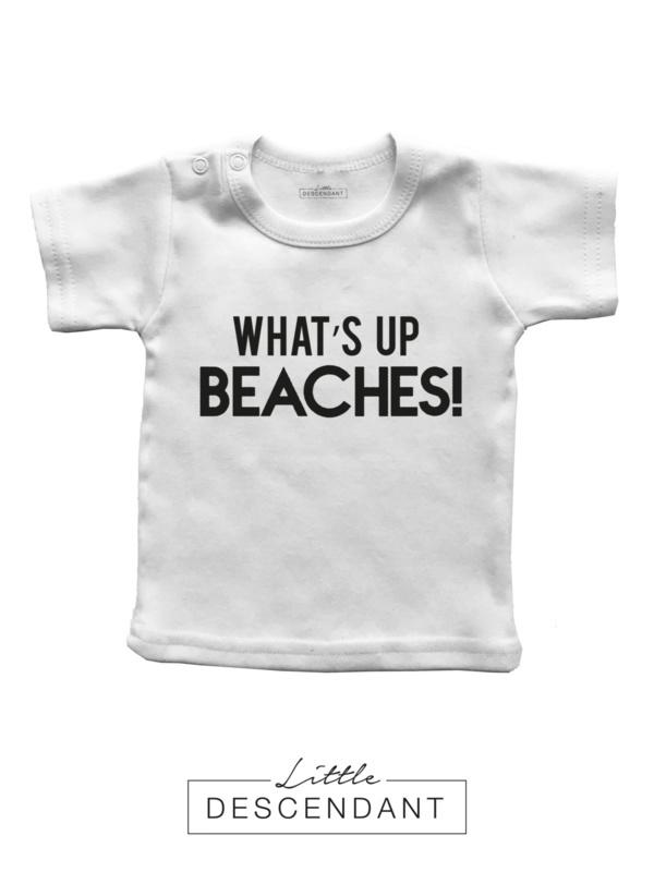 Zomer Shirt 'Whats up beaches!'.
