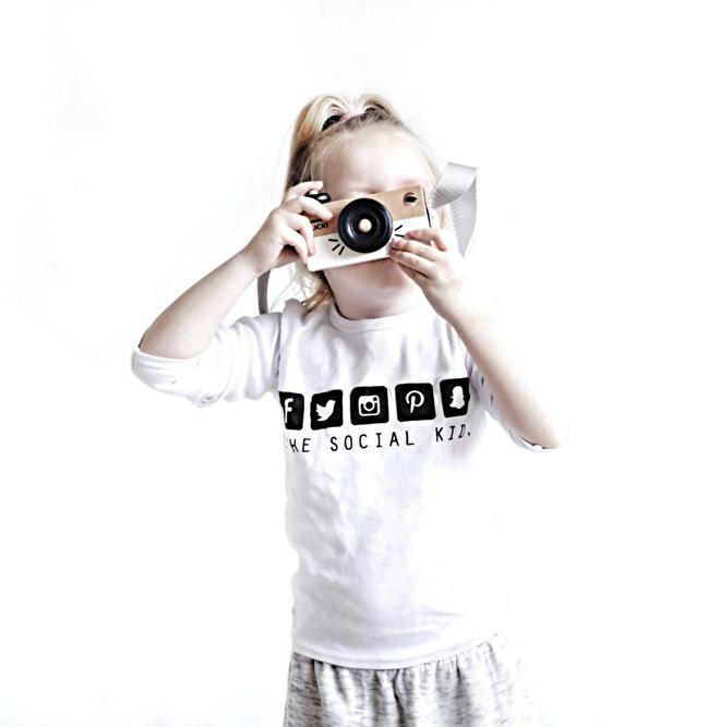 social media kind blogger shirt kinder truitje