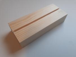 houten blokje