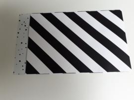 Cadeauzakje zwart/wit