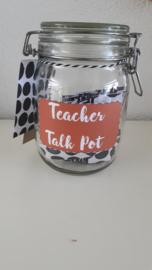 Teacher Talk Pot