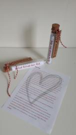 Nieuw Vaders liefdesbrief in buis | Alle artikelen | MadebyWG EM-71