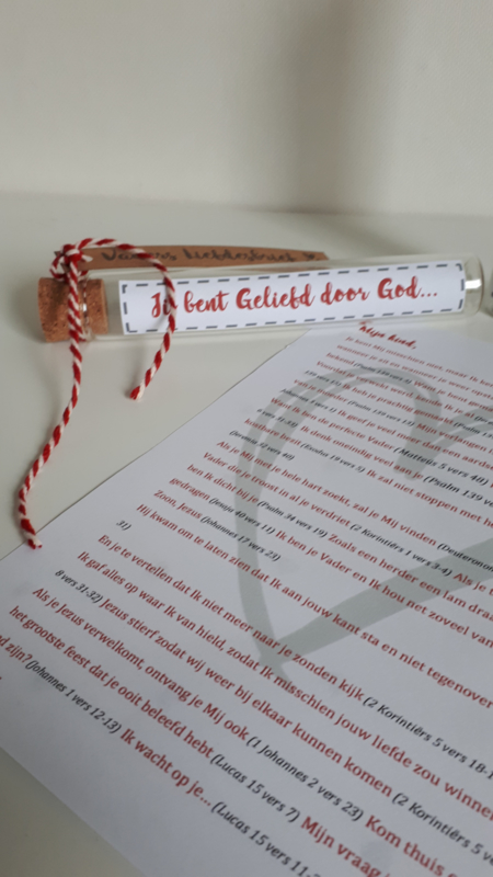 Super Vaders liefdesbrief in buis | Alle artikelen | MadebyWG WJ-94