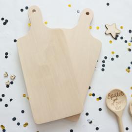 Broodplank met tekst en naam - Klein