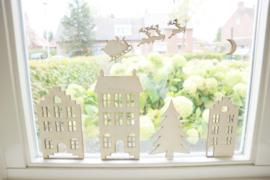 Raamstickers kerst - UITBREIDING