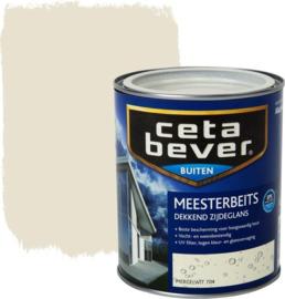 CetaBever Meesterbeits Zijdeglans Mergelwit 704 750 ml