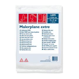 Afdekfolie LDPE 0,030 mm  4 x 5 m