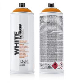 Montana White 2070 Campari Orange 400 ml