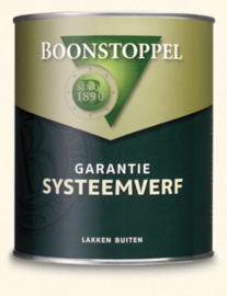 Boonstoppel Garantie Systeemverf 1 liter