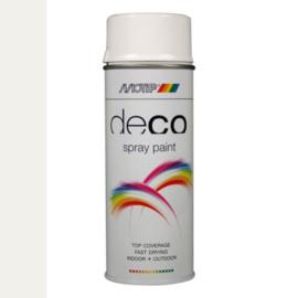 Motip Deco Paint Ral 9016 Verkeers Wit Hoogglans 400 ml