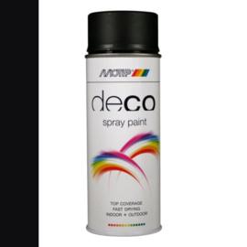 Motip Deco Paint Ral 9005 Diepzwart Hoogglans 400 ml