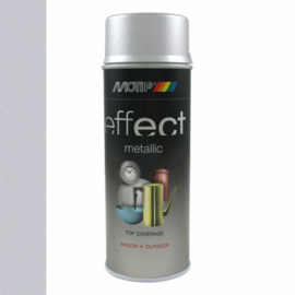 Motip Deco Effect Metallic Zilver 400 ml