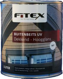 Fitex Buitenbeits UV Dekkend Hoogglans 1 liter