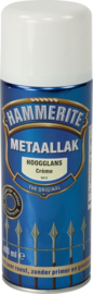 Hammerite Hoogglans Creme S012 Spuitbus 400 ml