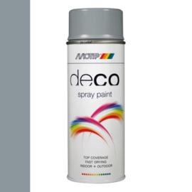Motip Deco Paint Ral 7001 Zilvergrijs Hoogglans 400 ml