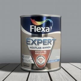 Flexa Expert Houtlak Binnen Zijdeglans Grijsblauw FE205 750 ml