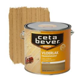 CetaBever Vloerlak Zijdeglans Transparant Antiek Grenen 2,5 liter