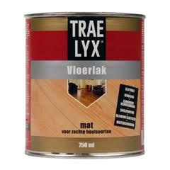 Trae Lyx Vloerlak Mat 2,5 liter