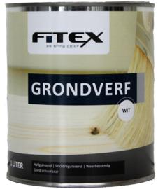 4 keer 2,5 liter Fitex Grondverf
