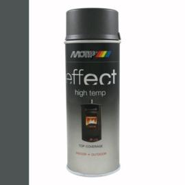 Motip Deco Effect Hittebestendig Donker Antraciet 400 ml