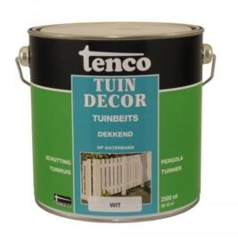 Tenco Tuindecor Dekkend Wit 2,5 liter