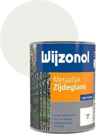Wijzonol Metaallak Zijdeglans Wit 9104 750 ml