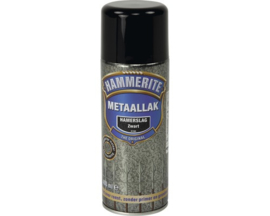 Hammerite Hamerslag Zwart H160 Spuitbus 400 ml